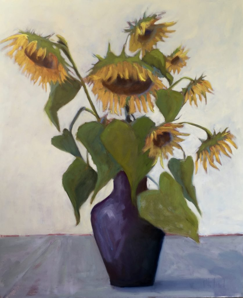 Sunflowers,36 x30""